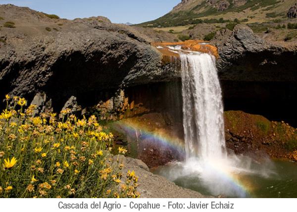 Caviahue y Copahue, Cascada el Agrio