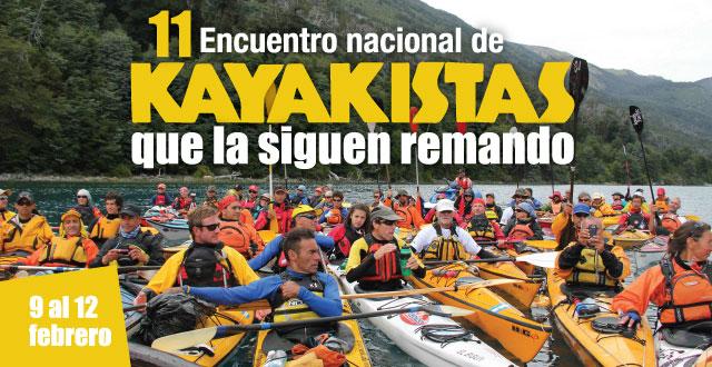 Encuentro Nacional de Kayakistas