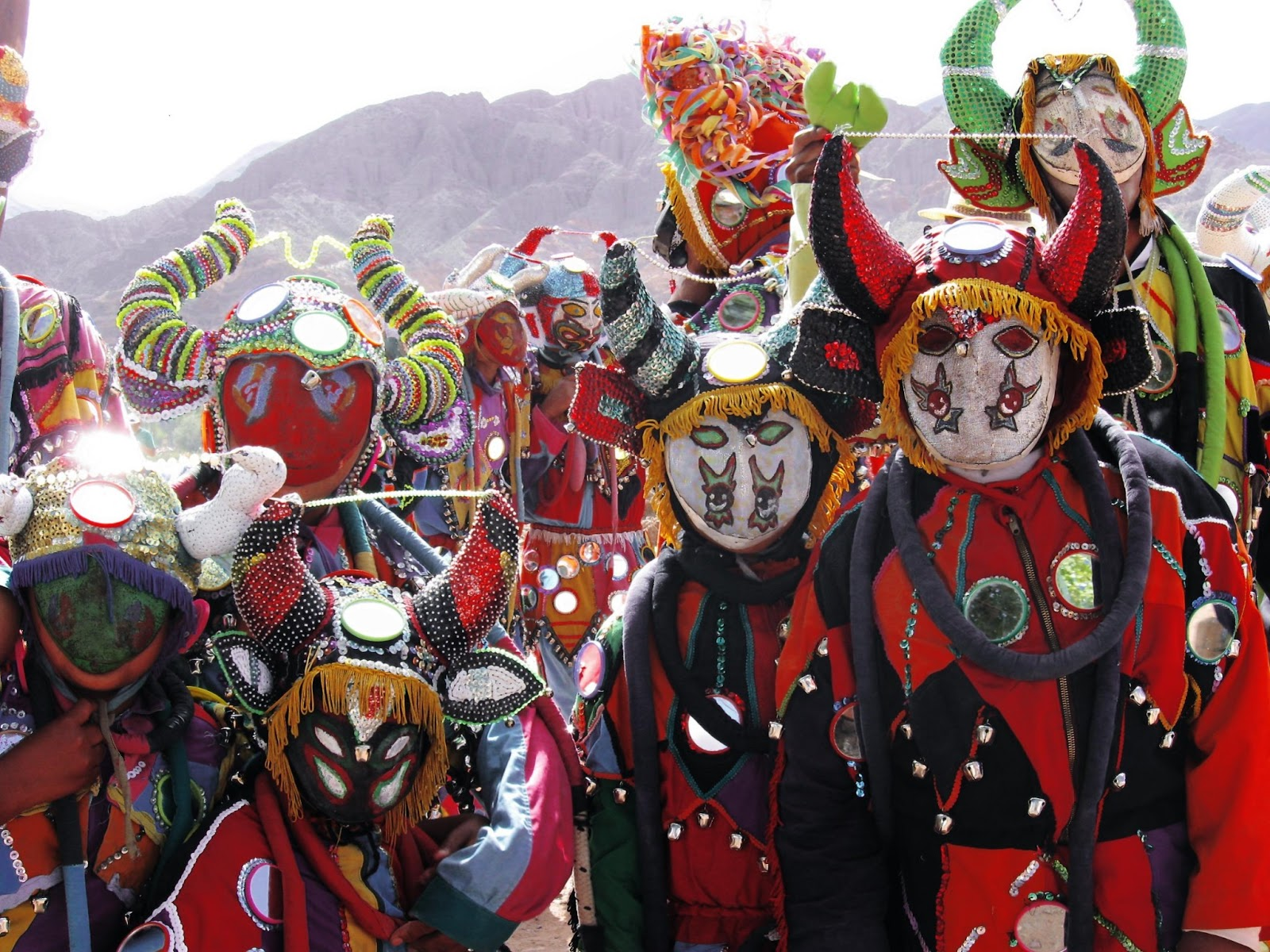 El Carnaval de Tilcara (Quebrada de Humahuaca, Jujuy) es uno de los