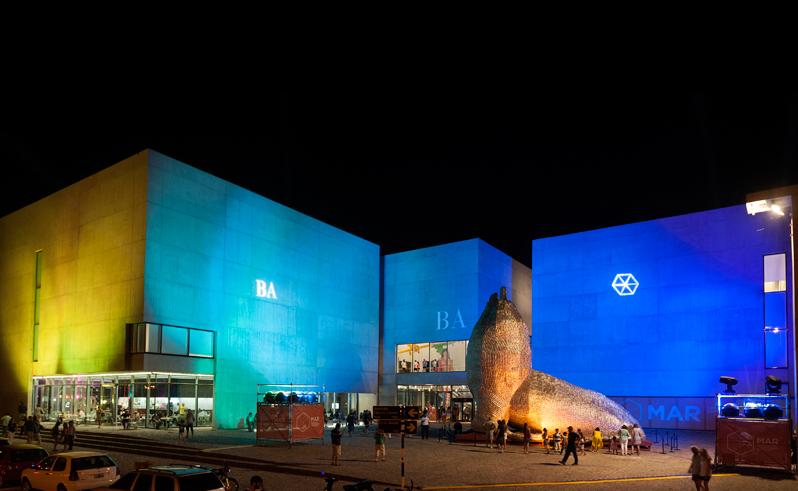 El Museo de Arte Contemporáneo de Mar del Plata (MAR). Foto: (BA Turismo)