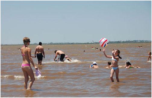 El balneario preferido de los habitantes de Gualeguaychú.