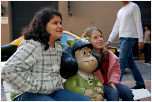 Mafalda fue la primera, y a ella se sumaron 14 nuevos personajes de nuestra infancia.