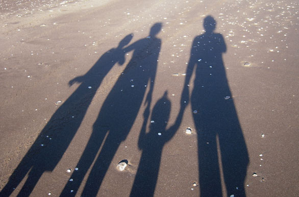 familia-a-la-sombra