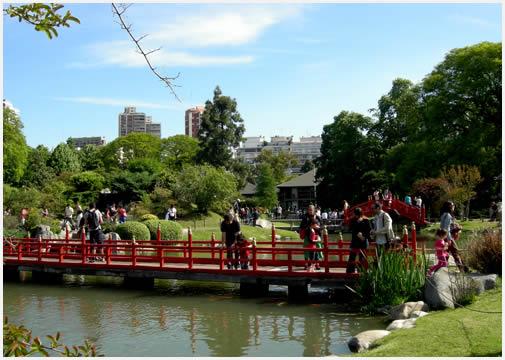 3 lugares para darle primavera a la ciudad de buenos aires Jardin japones informacion