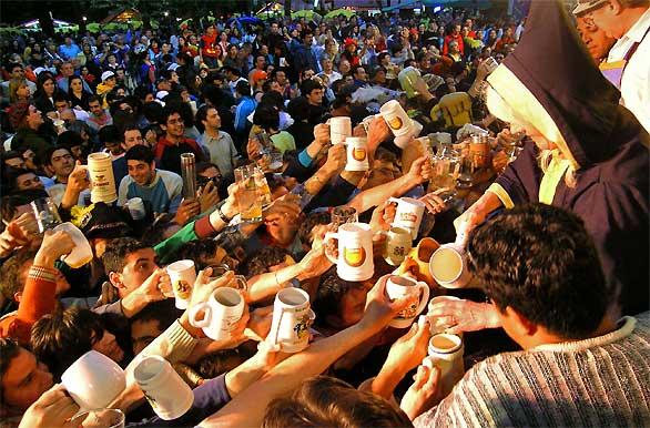 Fiesta de la Cerveza en Villa General Belgrano
