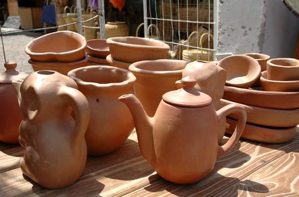 Artesanías De Barro Fotos De Cafayate Archivo Wa 5595