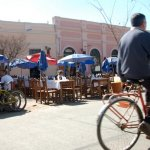 Bars and bicycles in Salta
