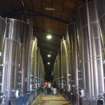 Stainless steel barrels, Lavaque Winery