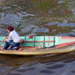 Rowing across the <i>Riachuelo</i>