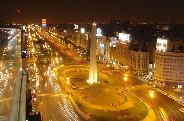 Vista Nocturna Fotos De Ciudad De Buenos Aires Archivo Wa 2317