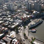 Air view of la Boca