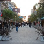 Image of the pedestrian street