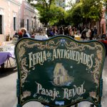 Antique's market at <i>Paseo de las Artes</i>