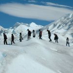 Trekking on the Perito Moreno Glacier