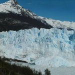 Panoramic view of the Perito Moreno Glacier
