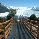 Walkways to the glacier