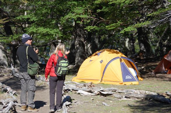 Campamento Capri - Fotos de El Chaltén