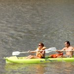 Paddling on the Gualeguaychú River