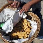 Churros en la playa