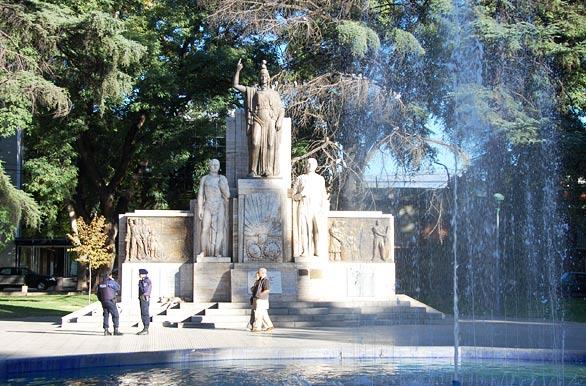 Plaza Independencia Pictures Of Mendoza Archive Wa 2936