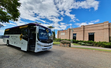 Take the Wine Bus from Maipú