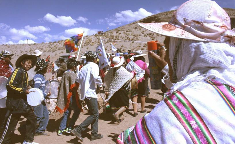 Fiesta tradicional de la que participan todos