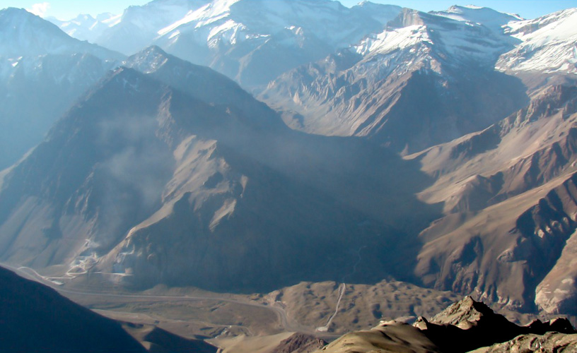 The Andes Mountain Range