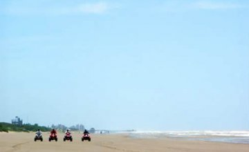 ATVs on the Beaches of Mar de Ajó