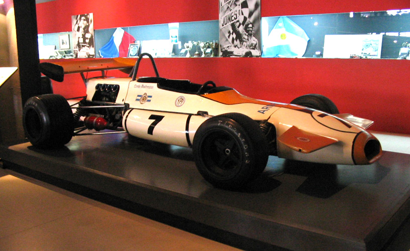 Formula One used by Carlos Alberto Reutemann