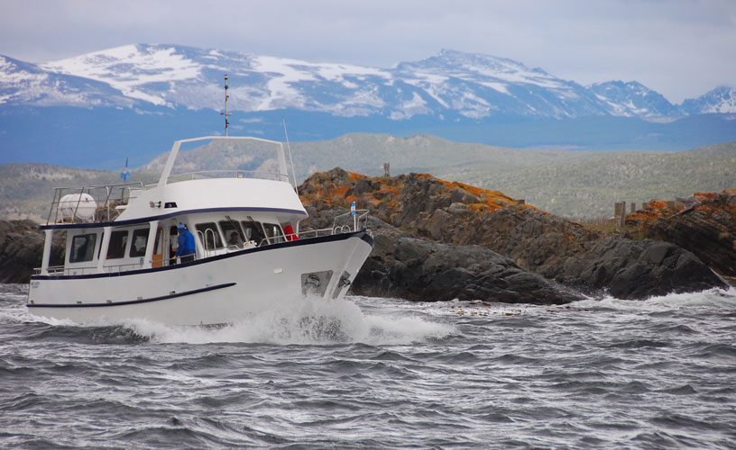 Navigating the famous Beagle Channel
