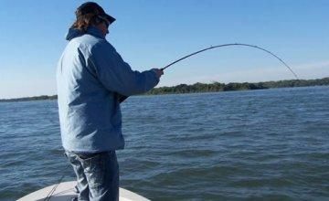 Pesca en ríos y el lago