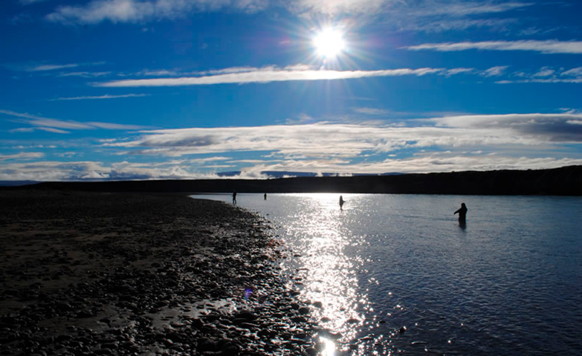 Fly fishing with calafate fishing el calafate for Santa cruz fishing spots