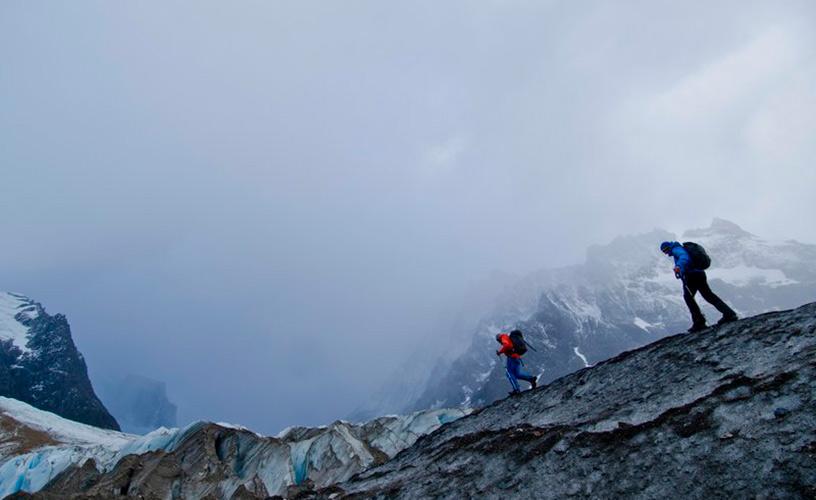 El momento de caminar por el hielo