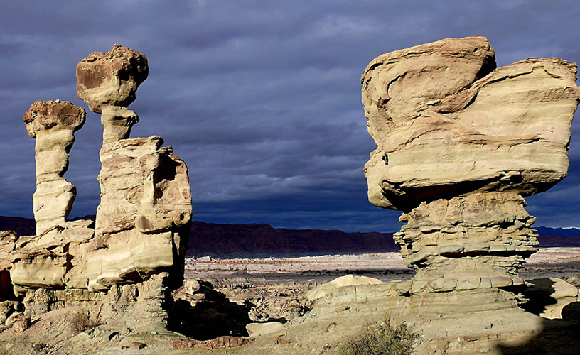 The Ischigualasto basin tells the story