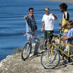 Mountain bike por las bardas