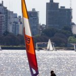 Optimist, navegar a vela