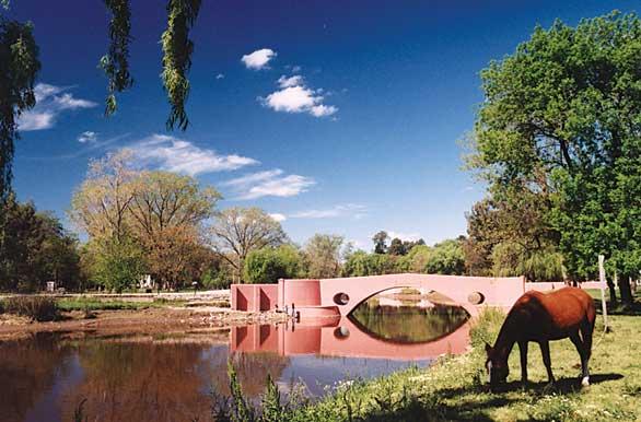 puente viejo - fotos de san antonio de areco