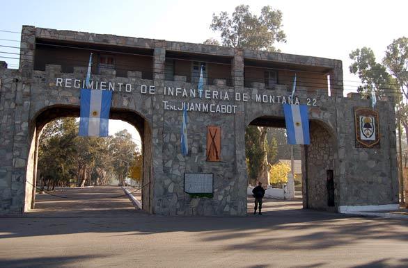 Regimiento Infantería Montaña 22 - San Juan, Autor: Marcelo Sola