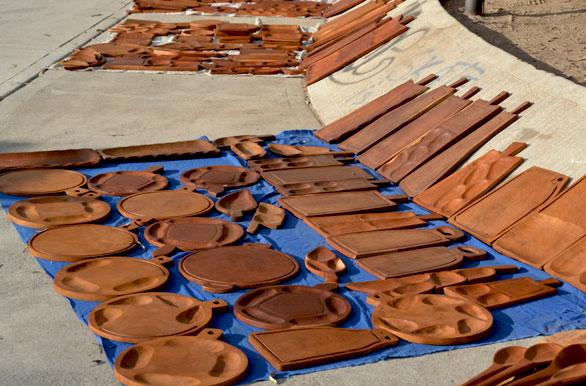 Artesan as en madera fotos de termas de r o hondo archivo wa 12268 Artesanias en madera