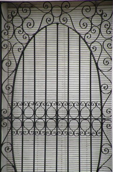 Rejas artesanales fotos de victoria archivo wa 7935 - Rejas hierro forjado ...