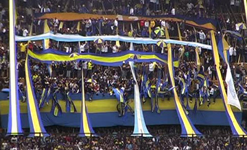 Excursion to the Boca Juniors Stadium